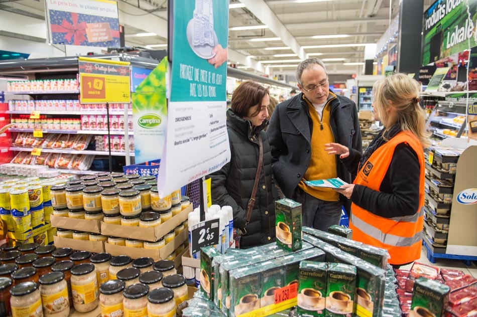 Fondation Carrefour Food bank