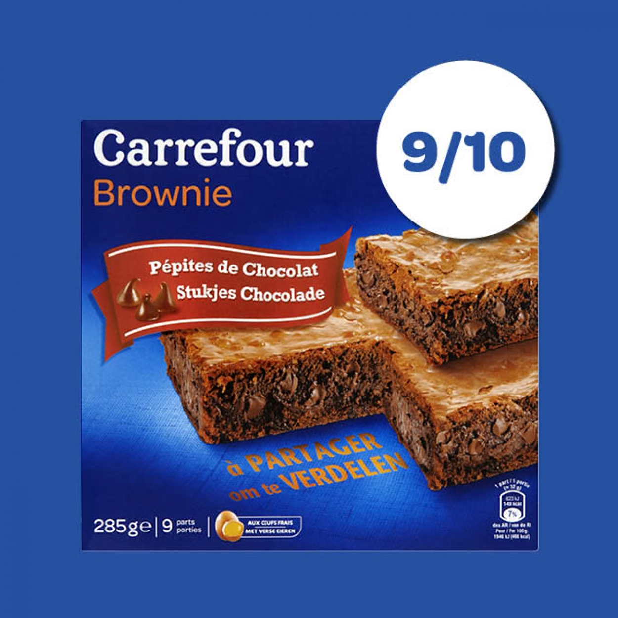 Brownie Carrefour