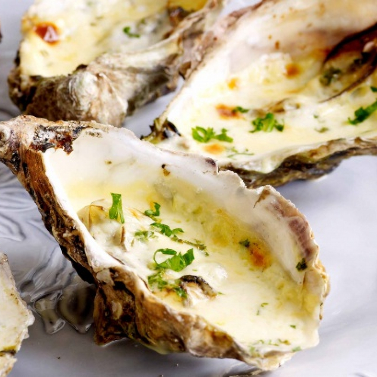 Recette Huîtres gratinées au champagne,Oesters gegratineerd met champagne Carrefour