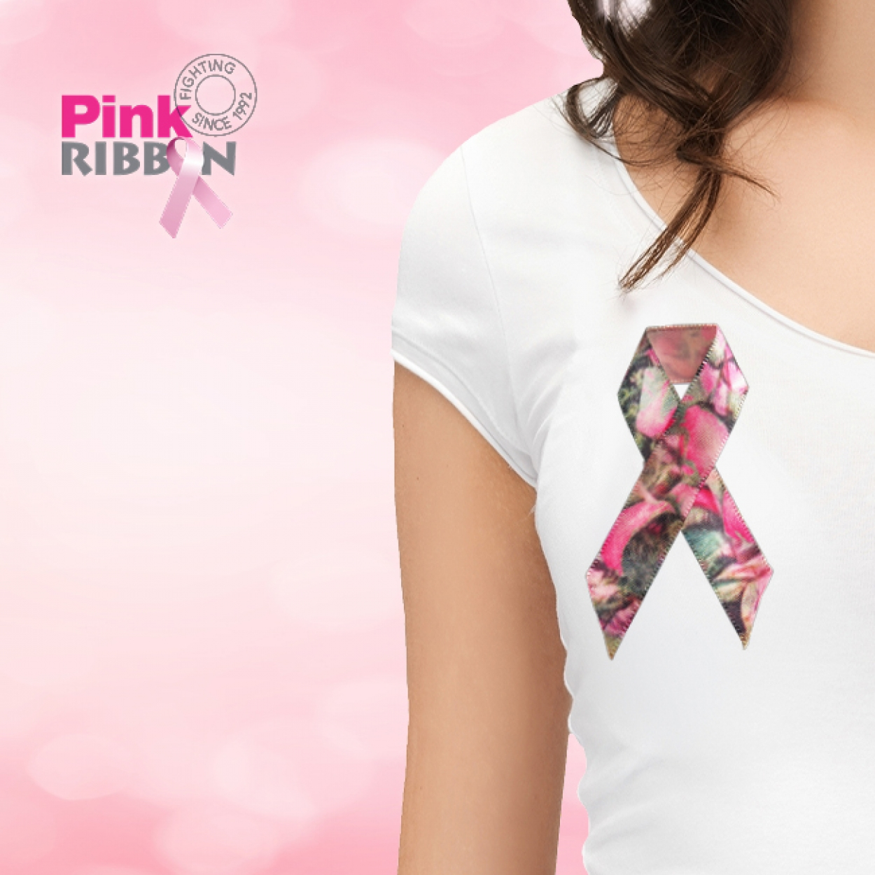 Pink ribbon - Carrefour