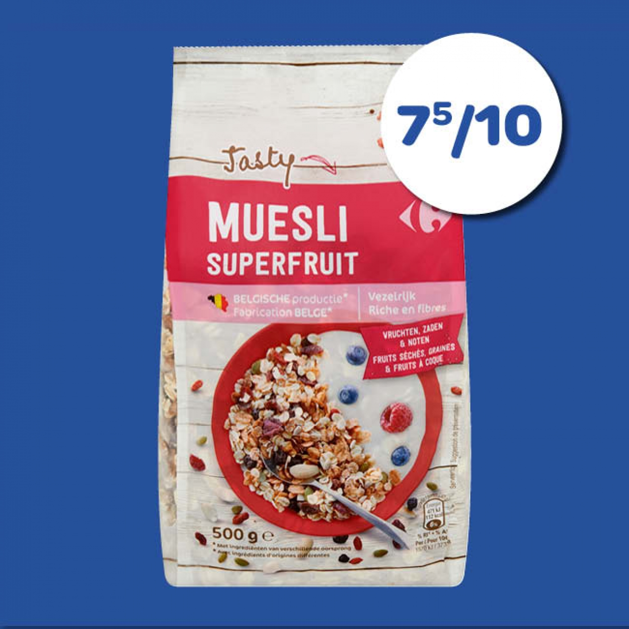 Carrefour Muesli Superfruit
