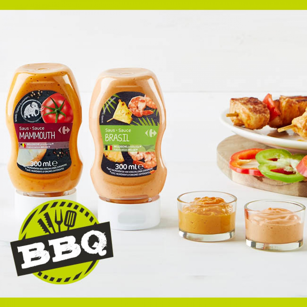 Campagne BBQ sauces Carrefour