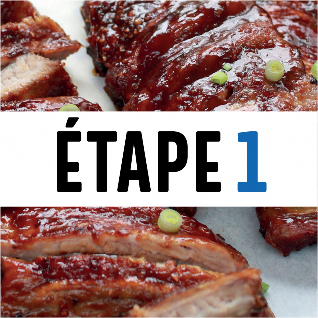 Slow cooking étape 1