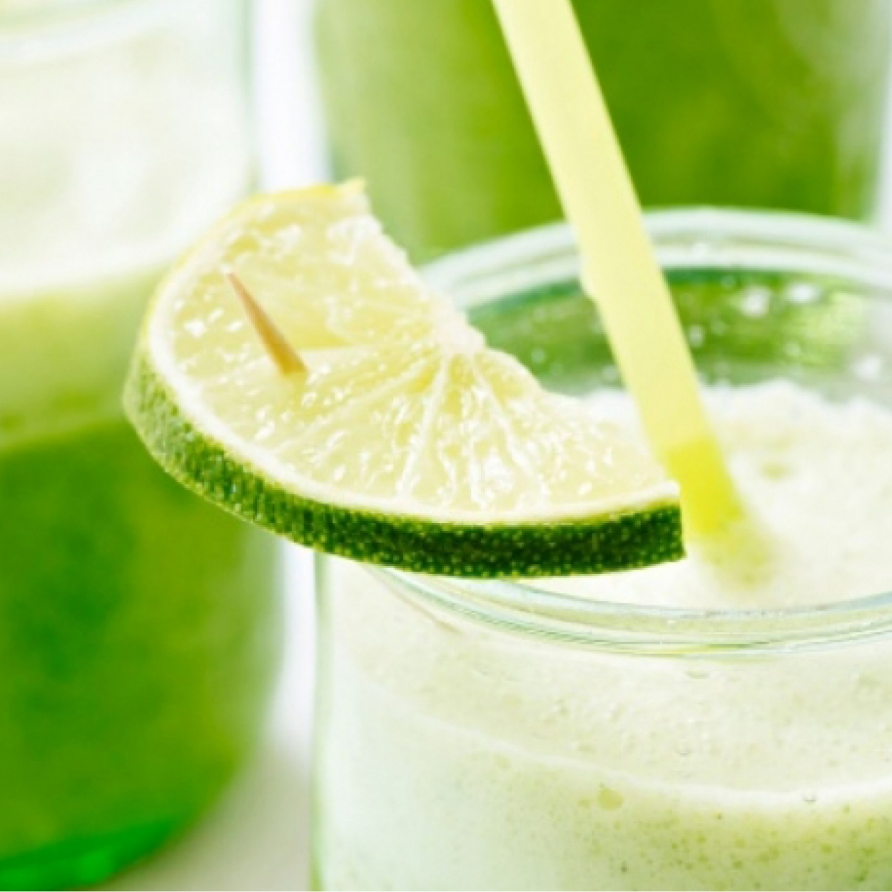 Smoothie brocoli-ananas